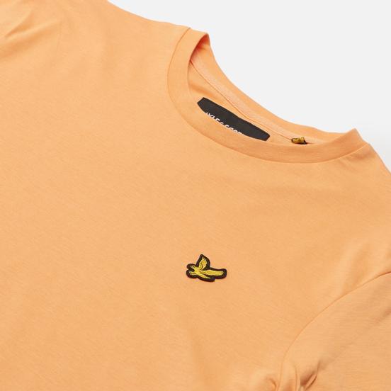 Мужская футболка Lyle & Scott Plain Regular Fit Melon