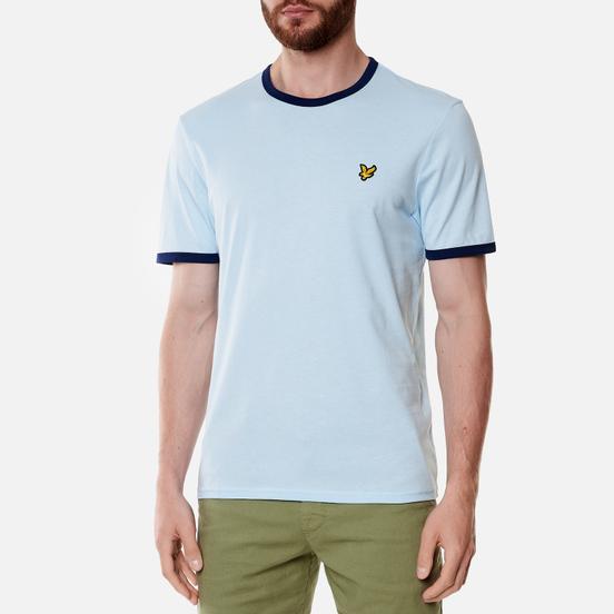 Мужская футболка Lyle & Scott Ringer Deck Blue/Navy