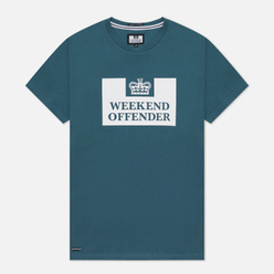 Мужская футболка Weekend Offender Prison AW21 Deep Pine