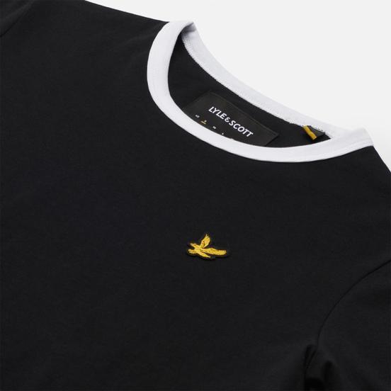 Женская футболка Lyle & Scott Ringer Jet Black