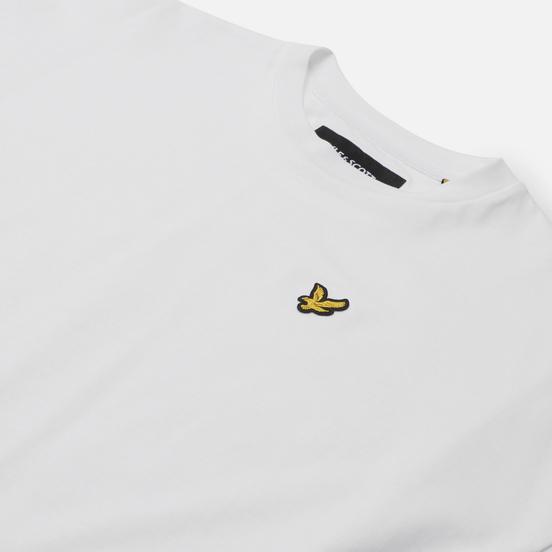 Женская футболка Lyle & Scott Oversized White