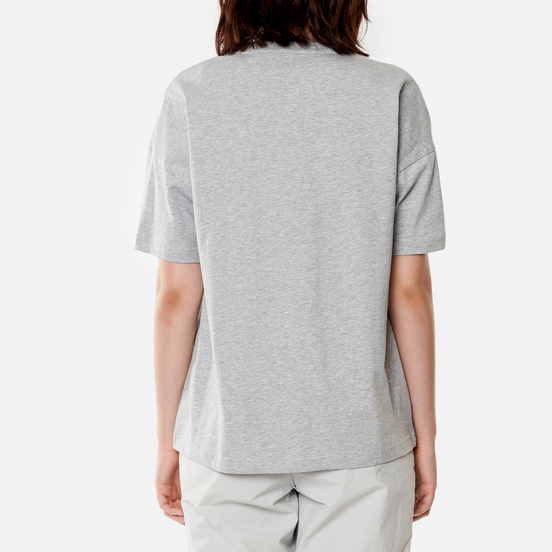 Женская футболка Lyle & Scott Oversized Light Grey Marl