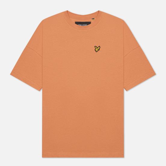 Женская футболка Lyle & Scott Oversized Dusk Orange