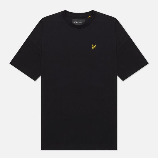 Женская футболка Lyle & Scott Oversized Jet Black