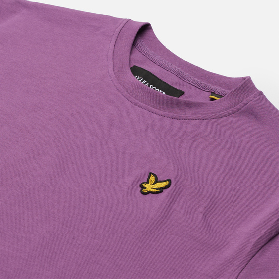 Женская футболка Lyle & Scott Cropped Dark Thistle