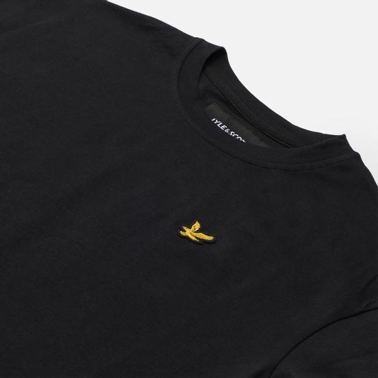 Женская футболка Lyle & Scott Cropped Jet Black