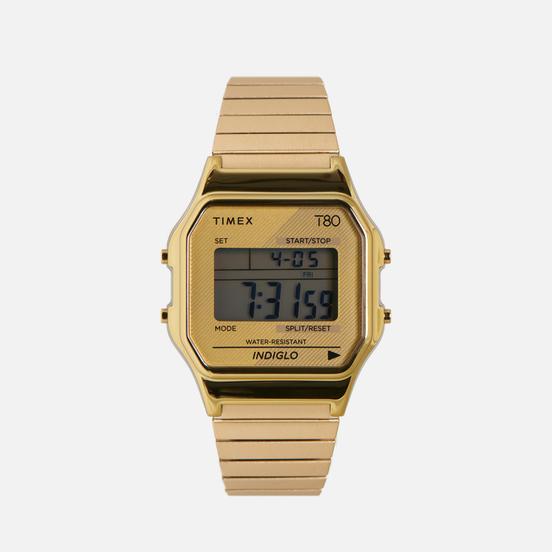 Наручные часы Timex T80 Expansion Gold/Gold