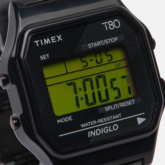 Наручные часы Timex T80 Black/Black/Black