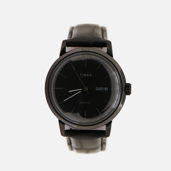 Наручные часы Timex Marlin Leather Black/Black