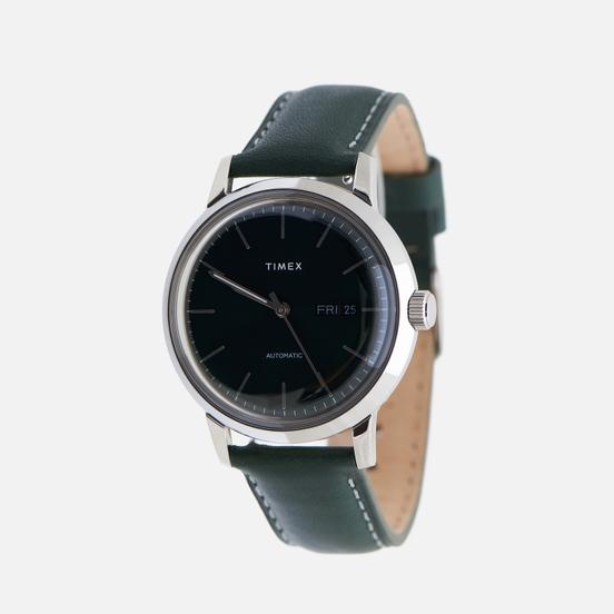 Наручные часы Timex Marlin Leather Stainless Steel/Green
