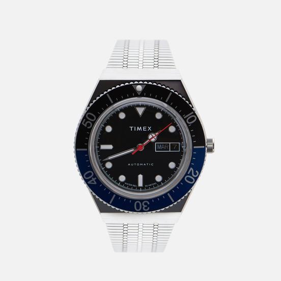 Наручные часы Timex M79 Stainless Steel/Black/Blue