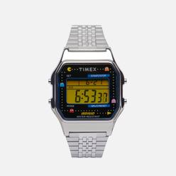 Наручные часы Timex x PAC-MAN T80 Silver/Silver/Black