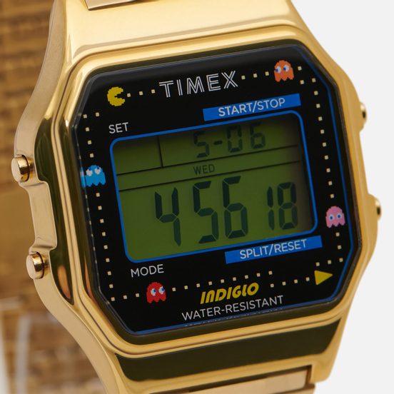 Наручные часы Timex x PAC-MAN T80 Gold/Black