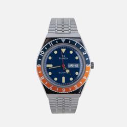 Наручные часы Timex Q Timex Reissue Silver/Navy/Orange/Navy