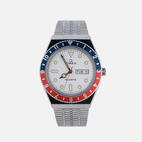 Наручные часы Timex Q Timex Reissue Silver/Navy/Red/White