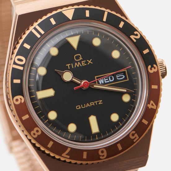 Наручные часы Timex Q Timex Reissue Rose Gold/Black
