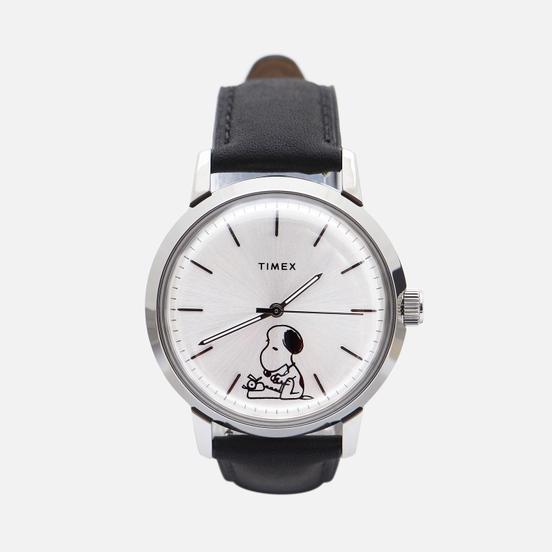 Наручные часы Timex x Peanuts Marlin 70th Anniversary Black/Silver