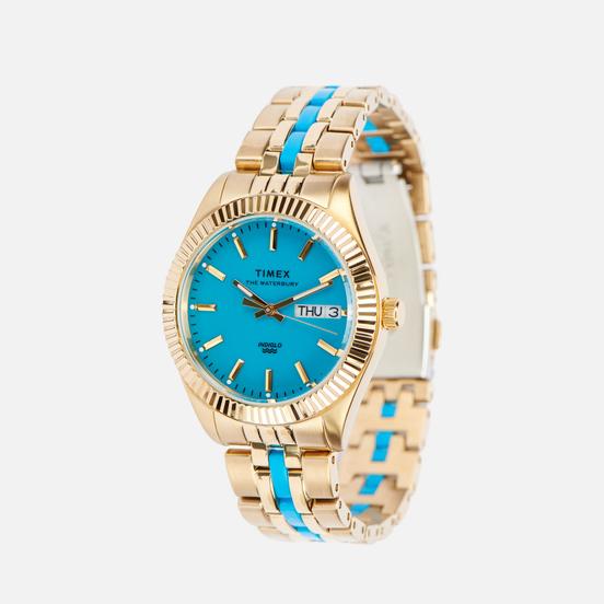 Наручные часы Timex Waterbury Malibu Gold/Gold/Emerald