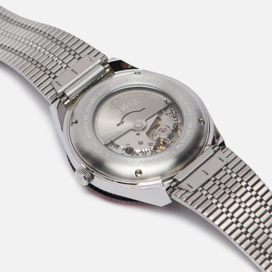 Наручные часы Timex M79 Automatic Stainless Steel/Black/Red
