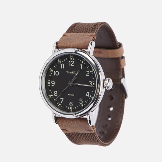 Наручные часы Timex Standard Brown/Silver/Black
