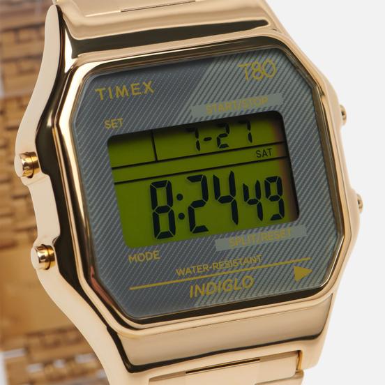 Наручные часы Timex T80 Gold/Grey