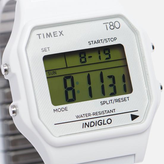 Наручные часы Timex T80 Silver/Silver/Silver