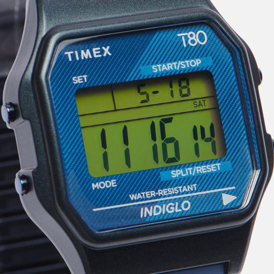 Наручные часы Timex T80 Emerald/Emerald/Navy