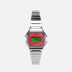 Наручные часы Timex T80 Mini Silver Tone/Stainless Steel/Pink