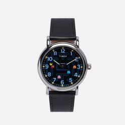 Наручные часы Timex x PAC-MAN Weekender Black/Silver/Black