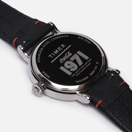 Наручные часы Timex x Coca-Cola Standard Silver Tone/Black/Cream