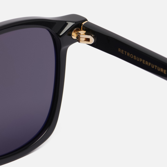 Солнцезащитные очки RETROSUPERFUTURE Unico Asian Black