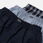 Комплект мужских трусов Calvin Klein Underwear 3-Pack Boxer Woven Tide/Morgan Plaid/Montague Stripe фото - 1