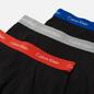 Комплект мужских трусов Calvin Klein Underwear 3-Pack Trunk Brief Black/Blue/Grey/Red фото - 1