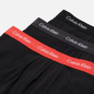 Комплект мужских трусов Calvin Klein Underwear 3-Pack Trunk Brief Black/Coral Lip/Phantom фото - 1