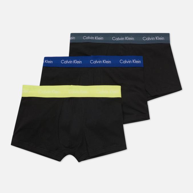 Комплект мужских трусов Calvin Klein Underwear 3-Pack Low Rise Trunk комплект из 3 х трусов шорт