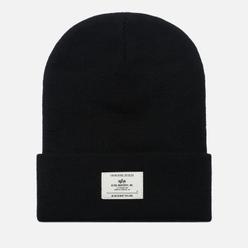 Шапка Alpha Industries Essential Beanie Black