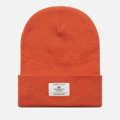 Шапка Alpha Industries Essential Beanie Emergency Orange