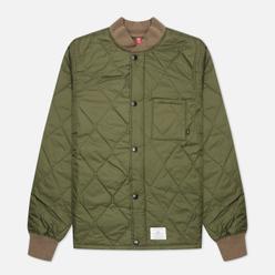 Мужская стеганая куртка Alpha Industries Quilted Utility Dark Green