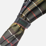 Зонт складной Barbour Tartan Telescopic Olive/Green фото- 2