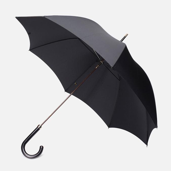 Зонт Fox Umbrellas GT2 Black Matt Handle Black