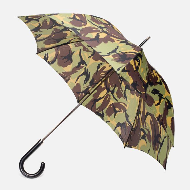 Зонт-трость Fox Umbrellas GT2 Black Matt Handle Camoflage