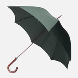 Зонт-трость Fox Umbrellas GT2 Dark Brown Matt Handle Dark Green фото- 0