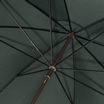Зонт-трость Fox Umbrellas GT2 Dark Brown Matt Handle Dark Green фото- 5