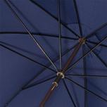 Зонт Fox Umbrellas GT2 Dark Brown Matt Handle French Navy фото- 5