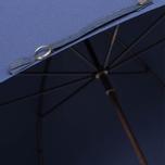Зонт Fox Umbrellas GT2 Dark Brown Matt Handle French Navy фото- 6
