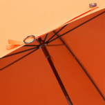Зонт-трость Fox Umbrellas GT2 Dark Brown Matt Handle Orange фото- 6