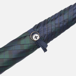 Зонт Fox Umbrellas GT2 Dark Brown Matt Handle Stewart Tartan фото- 4
