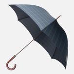 Зонт Fox Umbrellas GT2 Dark Brown Matt Handle Stewart Tartan фото- 0