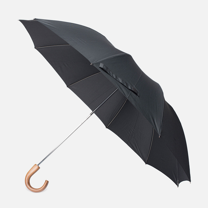 Зонт Fox Umbrellas Tel1 Brown Wood Crook Black