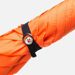Зонт-трость London Undercover City Gent Lifesaver Malacca Handle Orange фото- 4